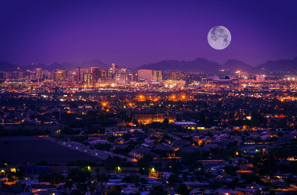 San Diego to Phoenix, AZ