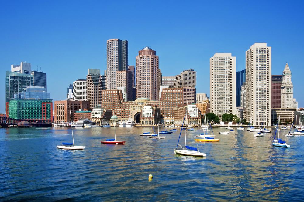 San Diego to Boston, MA