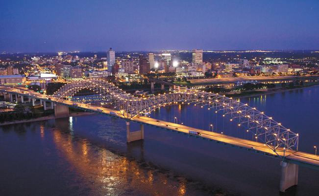 San Diego to Memphis, TN