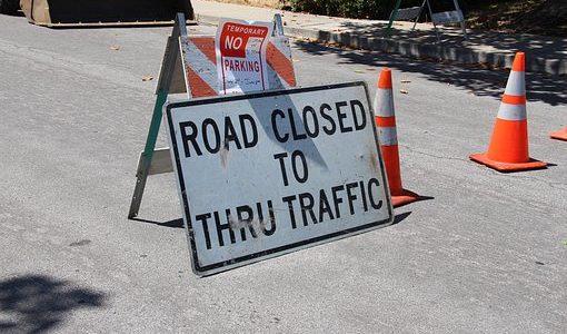 Friars Road Closure This Weekend