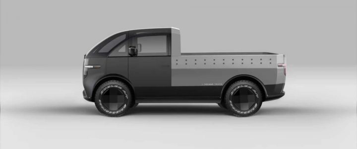 Canoo Truck Showing What The Electric Pickup Can Really Do.