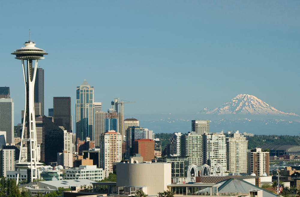 San Diego to Seattle, WA