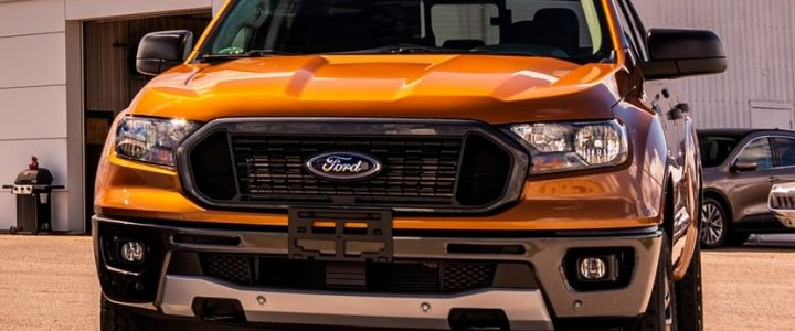 Ford Ranger Brings Back The Retro Paint Job Of The '90s